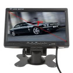 tft color monitor 7 inch color tft lcd display dc 12v car rear view headrest
