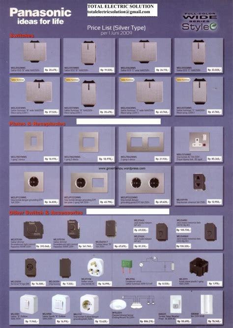 Stop Kontak Arde Panasonic Silver Style panasonic total electric solution