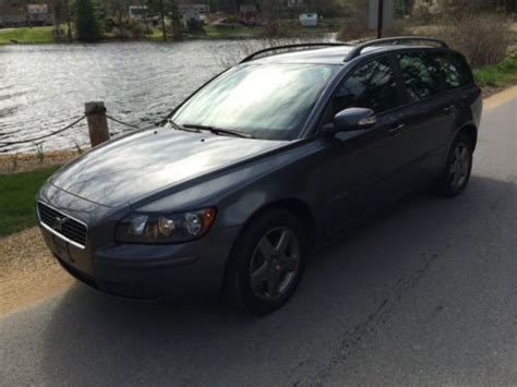 old car manuals online 2007 volvo v50 on board diagnostic system sell used 2007 volvo v50 t5 wagon manual shift in north brookfield massachusetts united