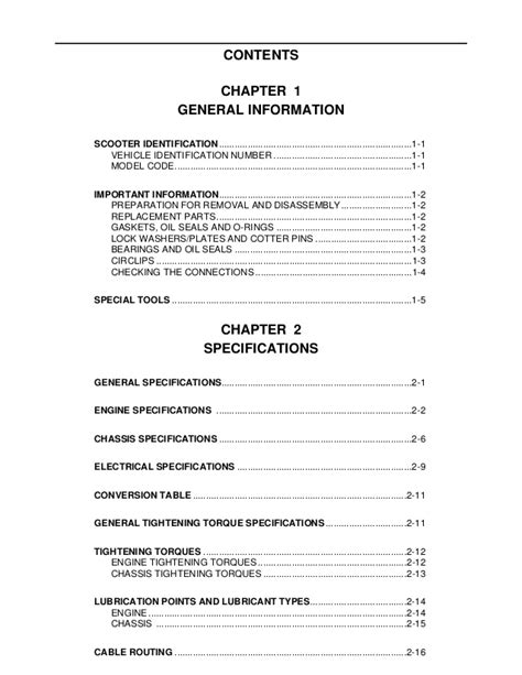 Yamaha vino 50 service manual pdf