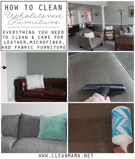 10 ideas about cleaning upholstered furniture on