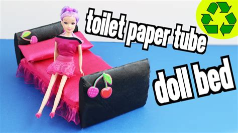 What Can You Make Out Of Toilet Paper Rolls - how to make a doll bed with toilet paper rolls