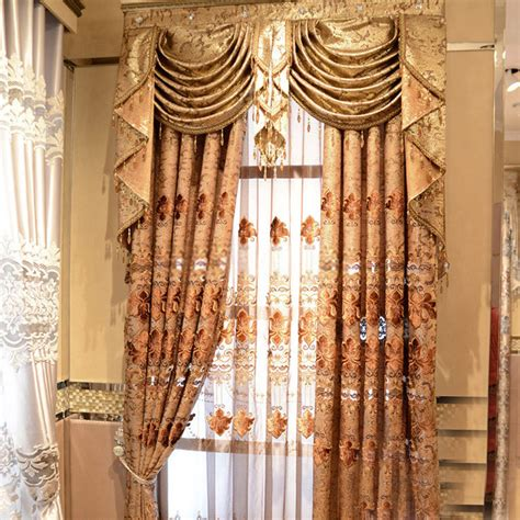 luxury curtain pretty and luxury curtains online with jacquard patterns