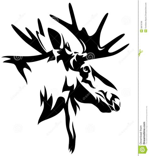 moose tribal tattoo tribal moose www imgkid the image kid has it