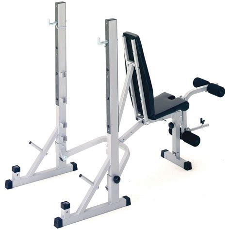 weights and bench set york b540 folding weight bench and viavito 50kg cast iron weight set