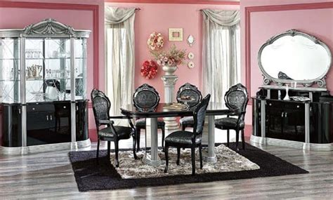 beautiful modern dining sets luxury room decosee com european contemporary dining room furniture decosee com