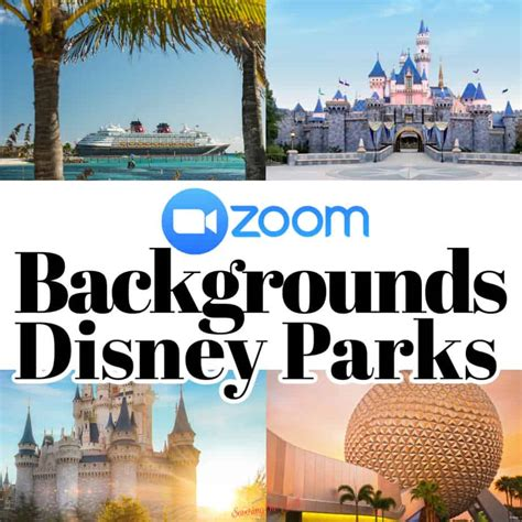 disney zoom backgrounds   savoring  good