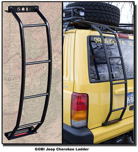 gobi jeep xj ladder gjclad jeep xj