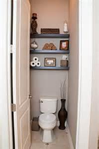 above toilet shelving powder room shelves home