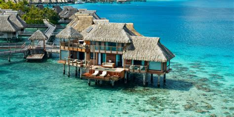 bungalow overwater in fiji islands yfgt 18 swoon worthy overwater bungalows jetsetter