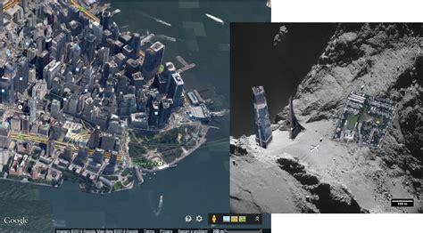Golden Rosetta Eiffel higher resolution rosetta images reveal dunes on the