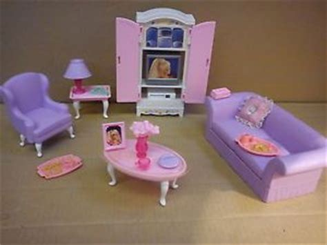 barbie living room furniture late 90s barbie furniture sets pretty sure i had this