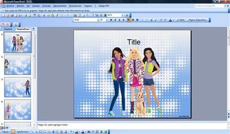 chicas adolescentes  plantillas powerpoint gratis