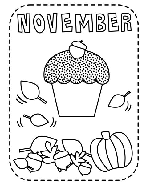 coloring page for november cupcakes coloring pages free printable pictures coloring