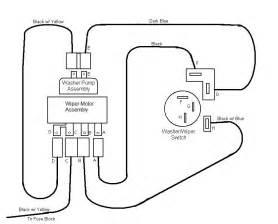 88 chevy truck wiper motor wiring diagram get free image