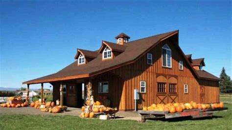 pole barn style home plans house easy photos type houses
