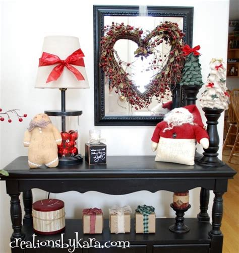 Entry Table Decorations Diy Decorating Entry Table