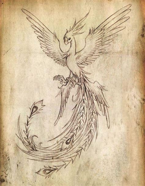 pinterest tattoo phoenix tatto ideas 2017 flying phoenix bird tattoo design