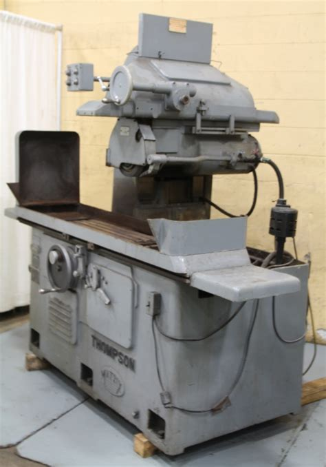 8 quot x 24 quot thompson horizontal surface grinder stock 63400