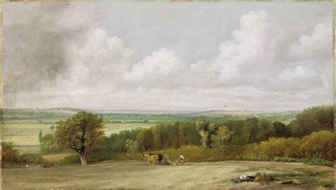Landscape Artists Constable Landscape Ploughing In Suffolk Photograph By