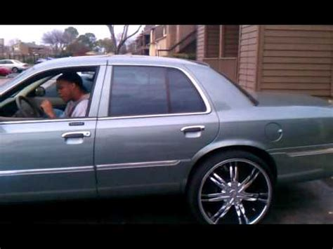 grand on 24s streetkings car club 05 grand marquis on 24s