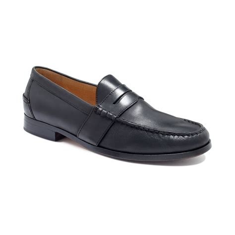 ralph loafers ralph arscott loafers in black for lyst