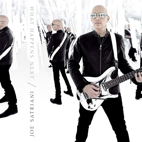 Joe Is Back With A New Album In Stores April 24th by Joe Satriani Announces New Album What Happens Next And