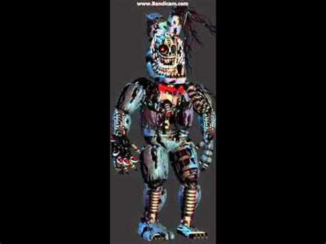 nightmare withered withered bonnie sings fnaf song remix