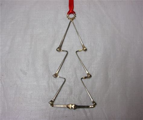 christmas tree horseshoe nail ornaments horseshoe nails