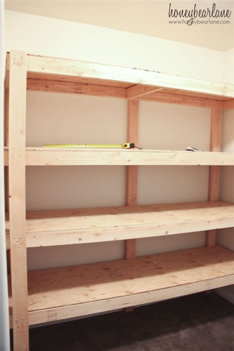 Shelf Building by Diy Storage Shelves Honeybear