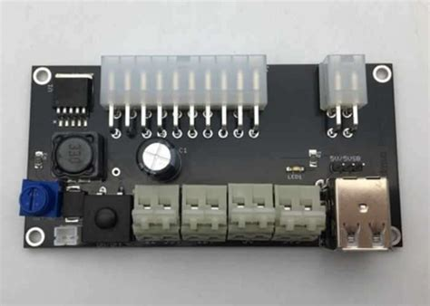 atx breakout board bench power supply atx breakout board version 2 0 for all pc power supplies