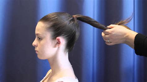 how to put in hair how to put your hair in a bun