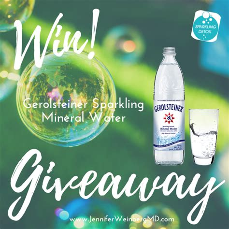 Mineral Water Detox by Why Minerals Matter Introducing The Gerolsteiner Mineral