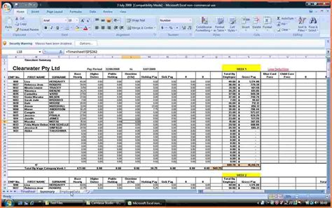 how to create a template in excel 7 payroll spreadsheet template excel excel spreadsheets