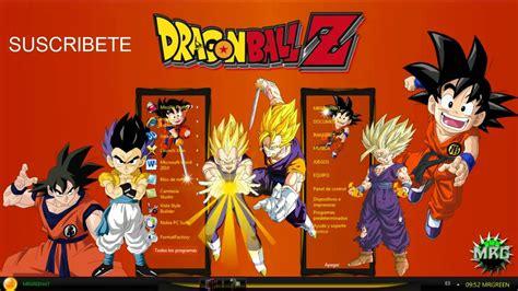 mozilla firefox themes dragon ball z theme dragon ball z for windows 7 original hd youtube