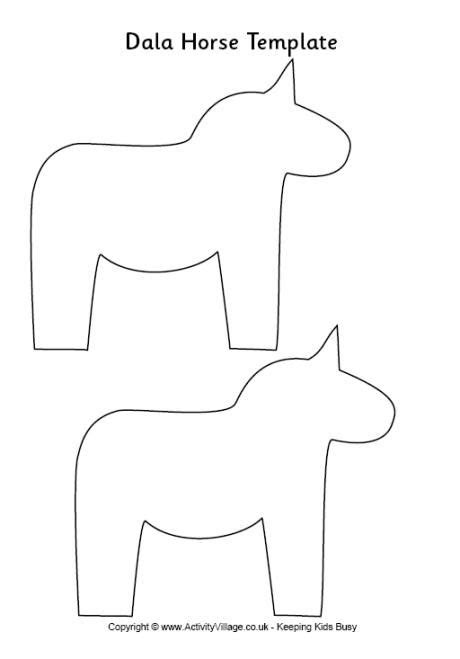 pinterest horse pattern dala horse carving pattern google search silhouettes