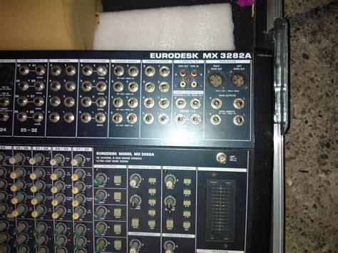 Mixer Behringer Mx3282 behringer eurodesk mx3282a image 734970 audiofanzine