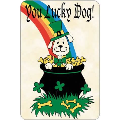 lucky puppy you lucky st patricks day