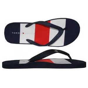 Swimwear sandals tommy hilfiger alan flip flop navy