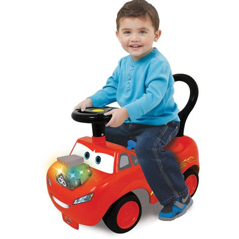Kidieland Ride On Disney Cars Lighting Mcqueen kiddieland disney pixar cars lightning mcqueen light and sound activity ride on ebay