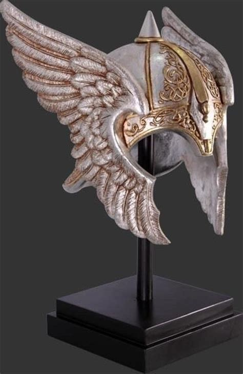 viking norseman helmet replica display decor viking