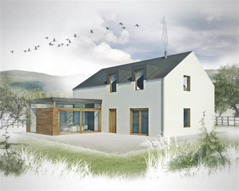 3 Bed Contemporary House Plans The Haven House Designs Traditional Uk