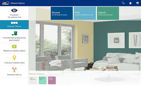 dulux visualizer an app that lets you paint your walls virtually