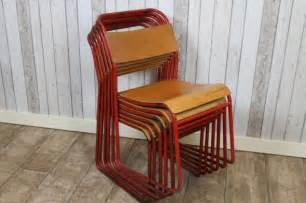 Antique Dining Room Sets old stacking school chairs metal stacking chairs with red