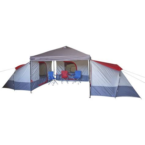 awning sun canopy ozark trail 4 person family big cing tent for 10x10