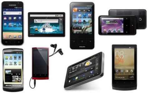 android alternative 8 android alternatives to apple s ipod touch liliputing