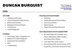 Job Resume Skills List by Special Skills For Resume Best Template Collection