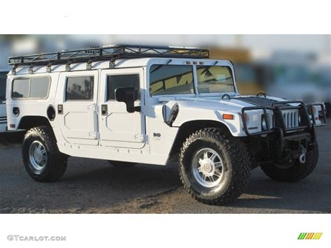 white h1 hummer bright white 2003 hummer h1 wagon exterior photo 89611427