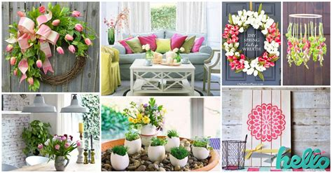 spring decorations for the home spring home decor ideas to warmly welcome the season