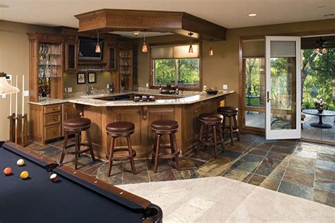 home bar area nice walkout basement bar area new house pinterest